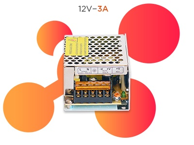 fuente 12v 3a switching
