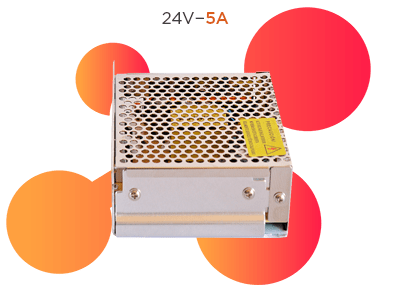fuente switching 24v 5a ionmax