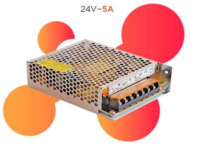FUENTE SWITCHING 24V 5A