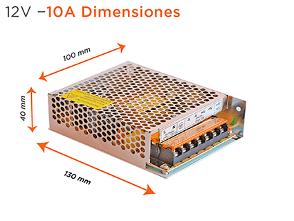 12v 10 dimensiones